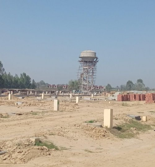 0000000 view of Over head tank jeevan sukh phase 2